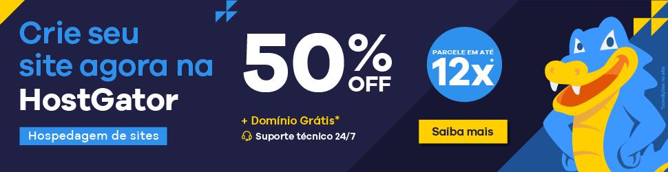 Hospedagem de sites HostGator em promoção - contrate já!